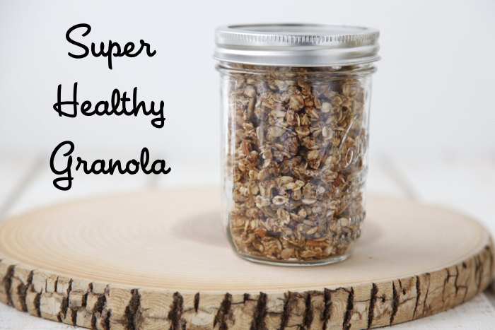 Super Healthy Granola from weelicious.com