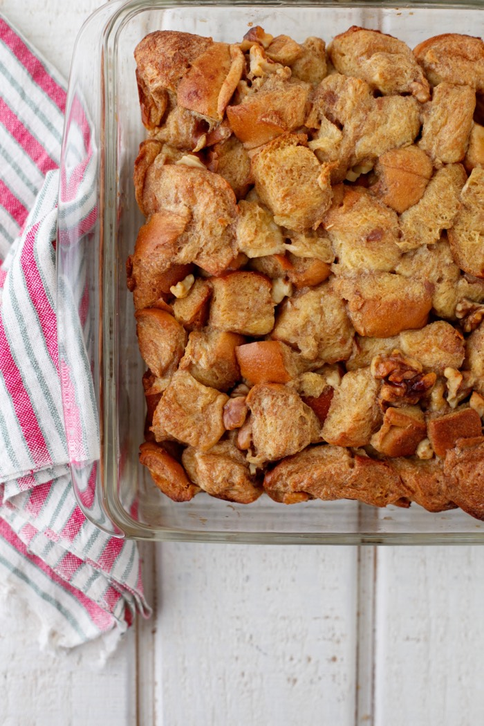 Challah Bread Pudding from weelicious.com