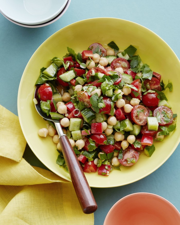 Mediterranean Chopped Salad recipe from weelicious.com