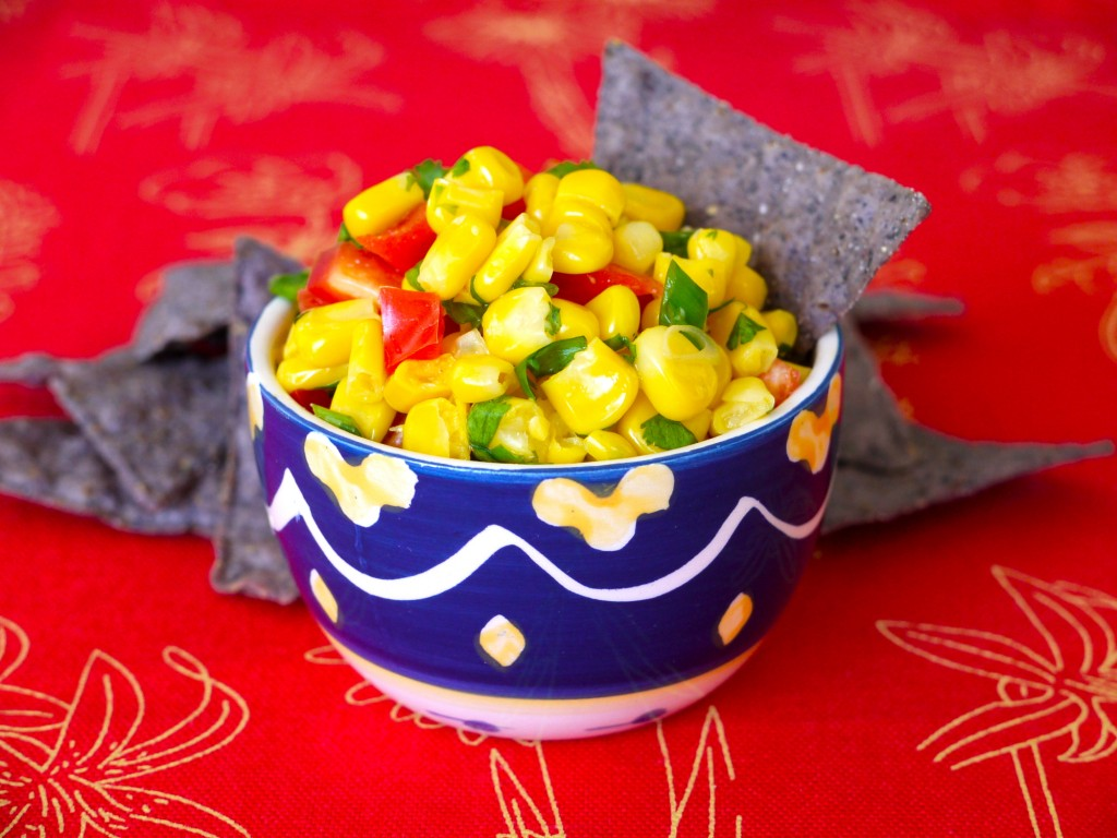 Corn Salsa recipe from weelicious.com