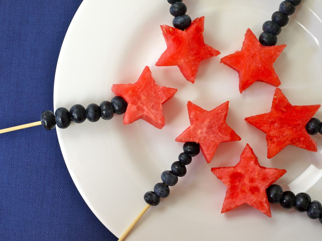 Fourth of July Wands recipe from weelicious.com