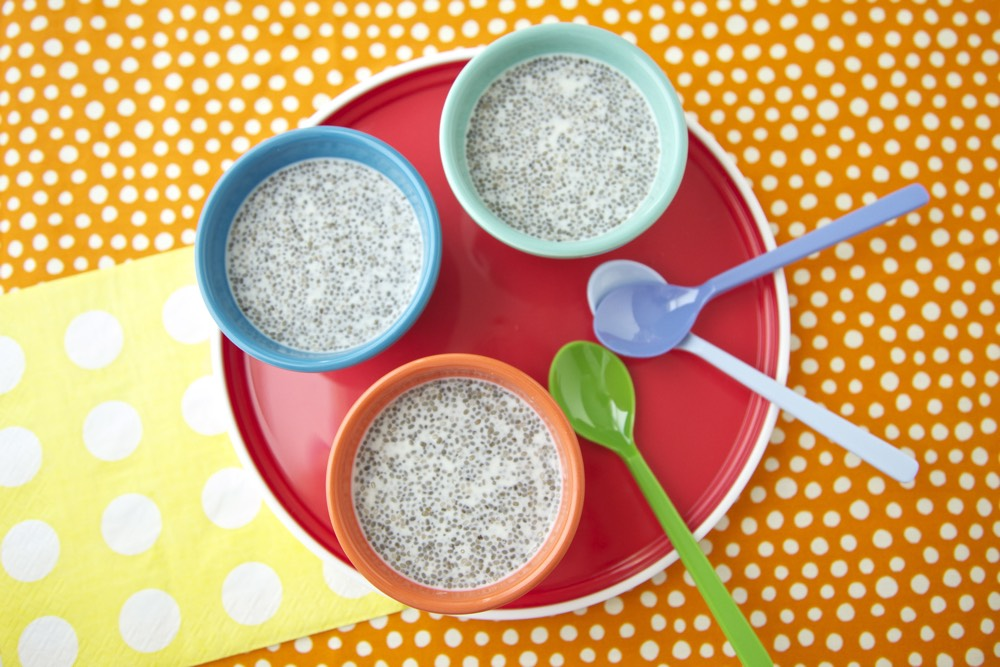 Vanilla Chia Seed Pudding from weelicious.com