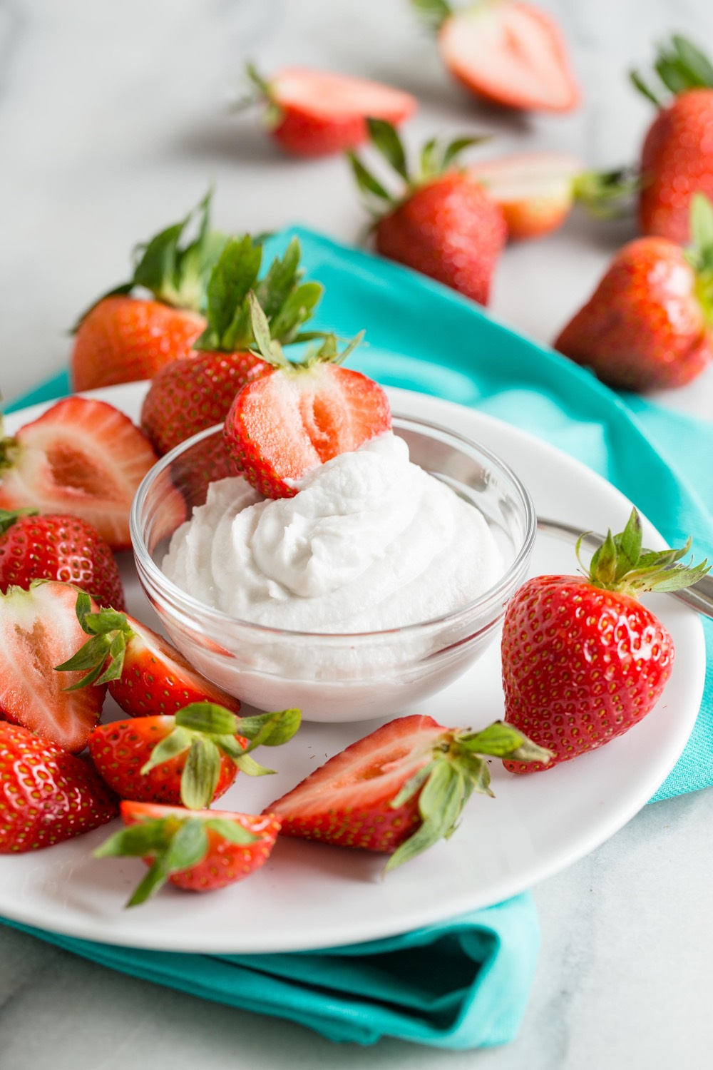 Coconut Whipped Cream from weelicious.com