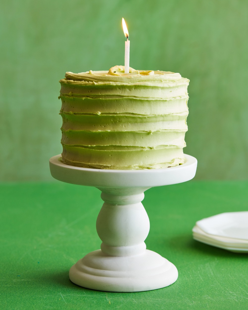 Spinach Smash Cake recipe from weelicious.com