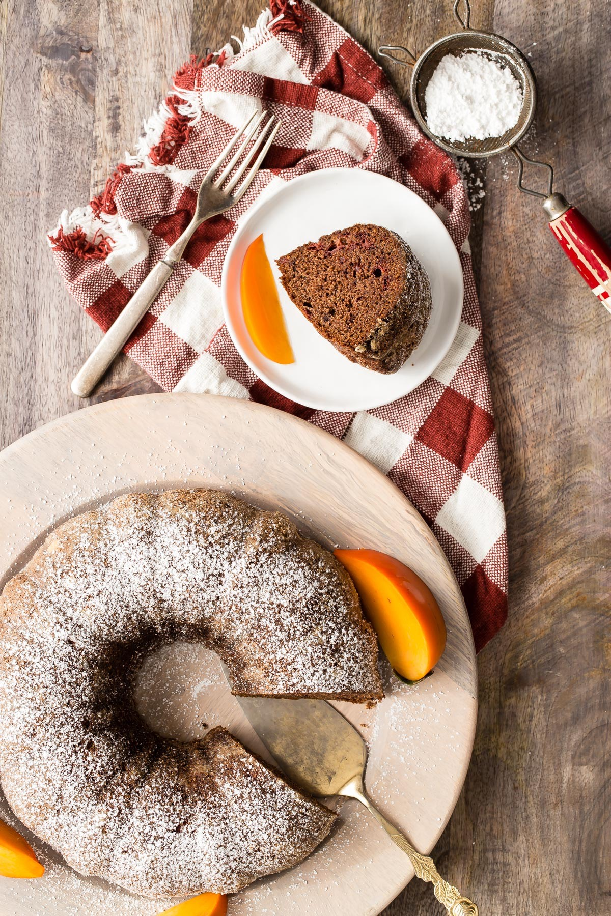 Persimmon Cake from weelicious.com