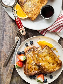 Holiday Challah French Toast
