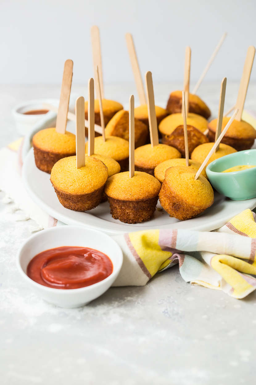 Corn Dog Muffin Bites from Weelicious.com