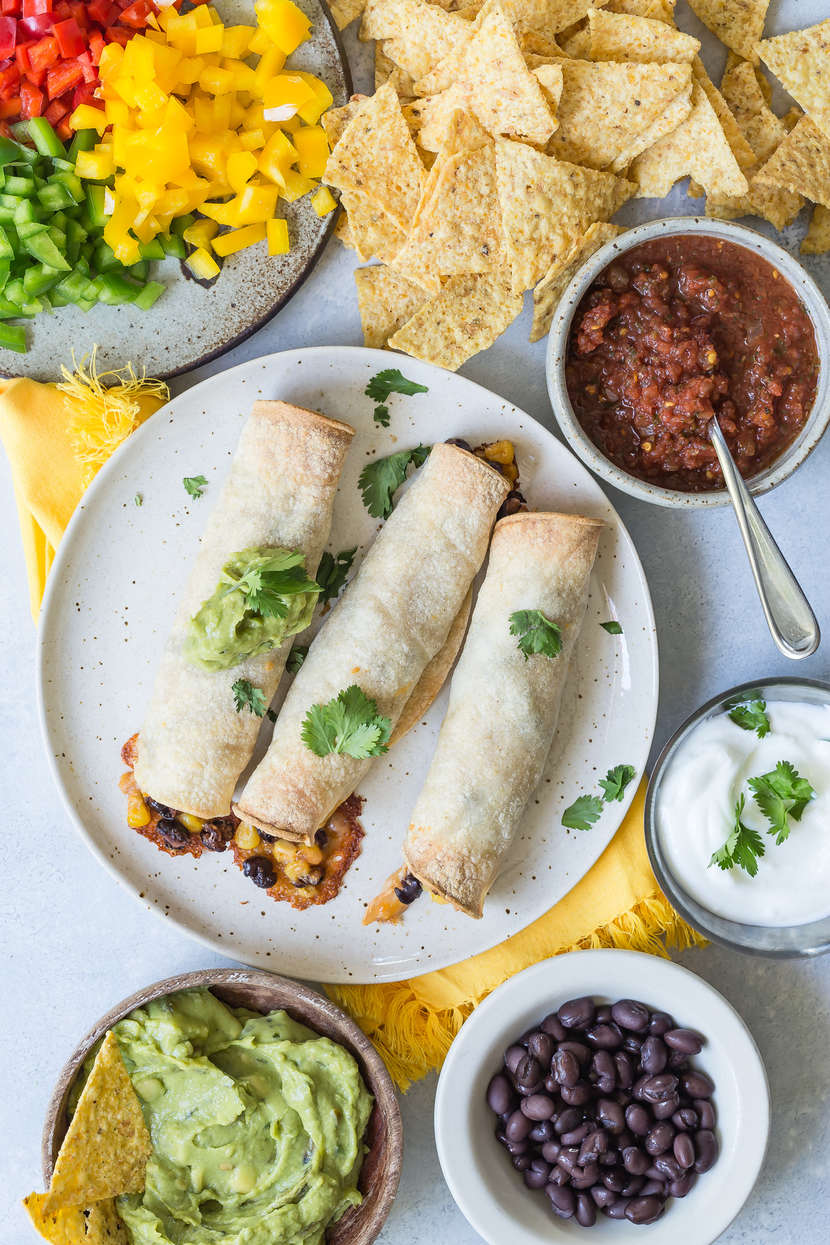 DIY Taquitos from weelicious.com