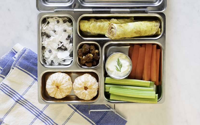Dairy Free School Lunch from Weelicious.com
