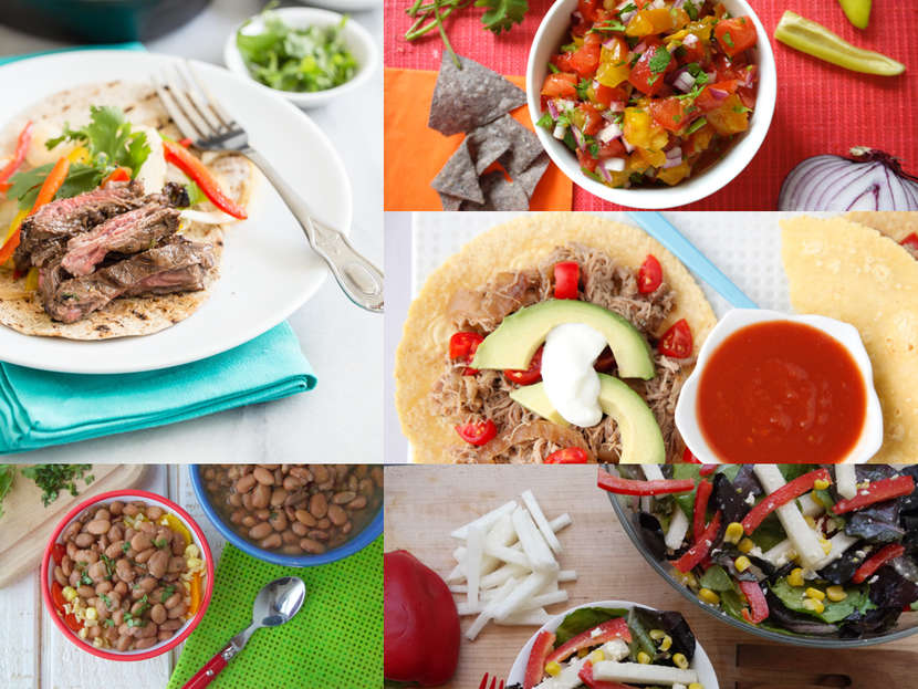 5 Recipes for Fiesta Night from Weelicious.com