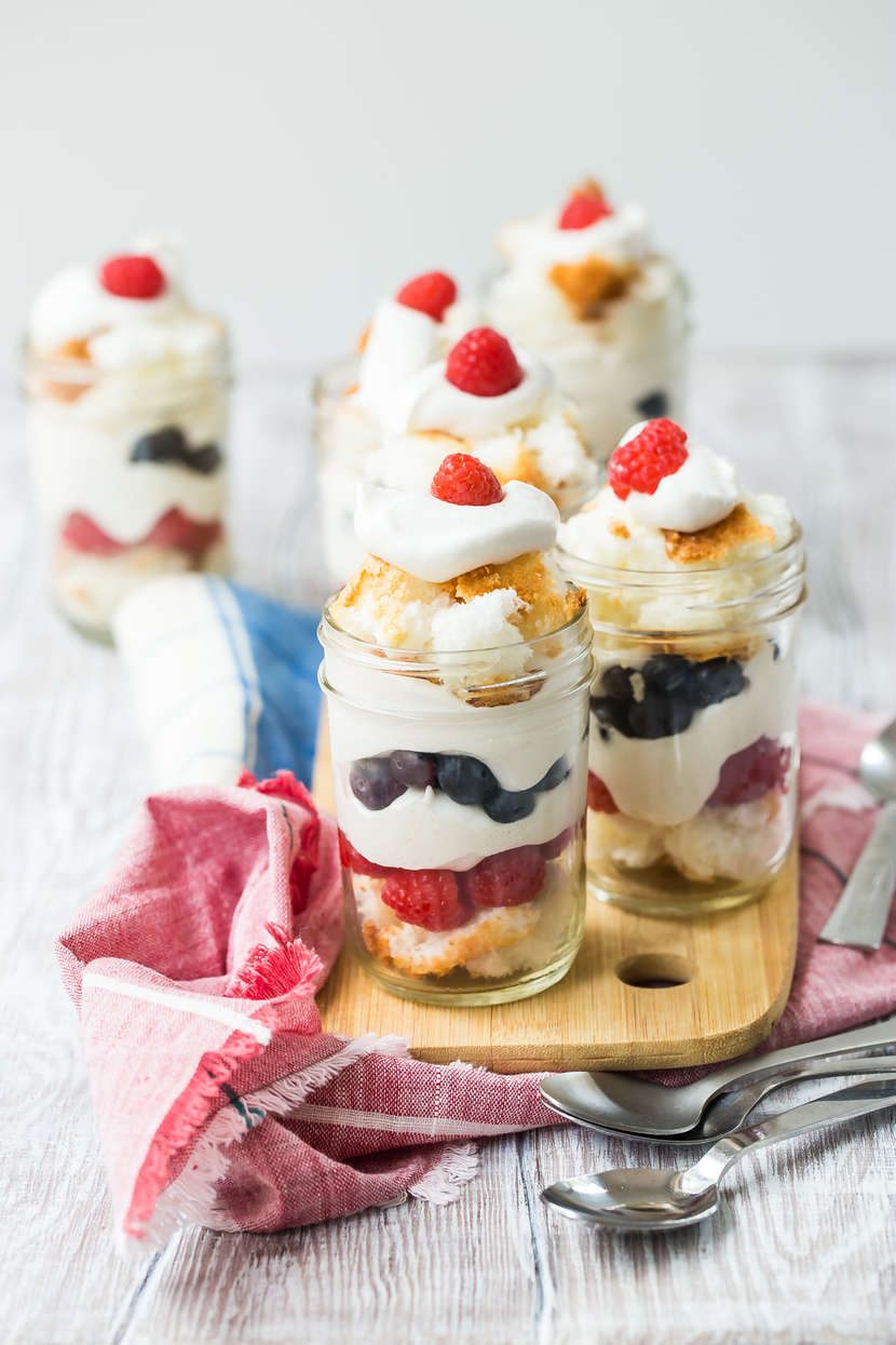 Fourth of July Parfaits from Weelicious.com