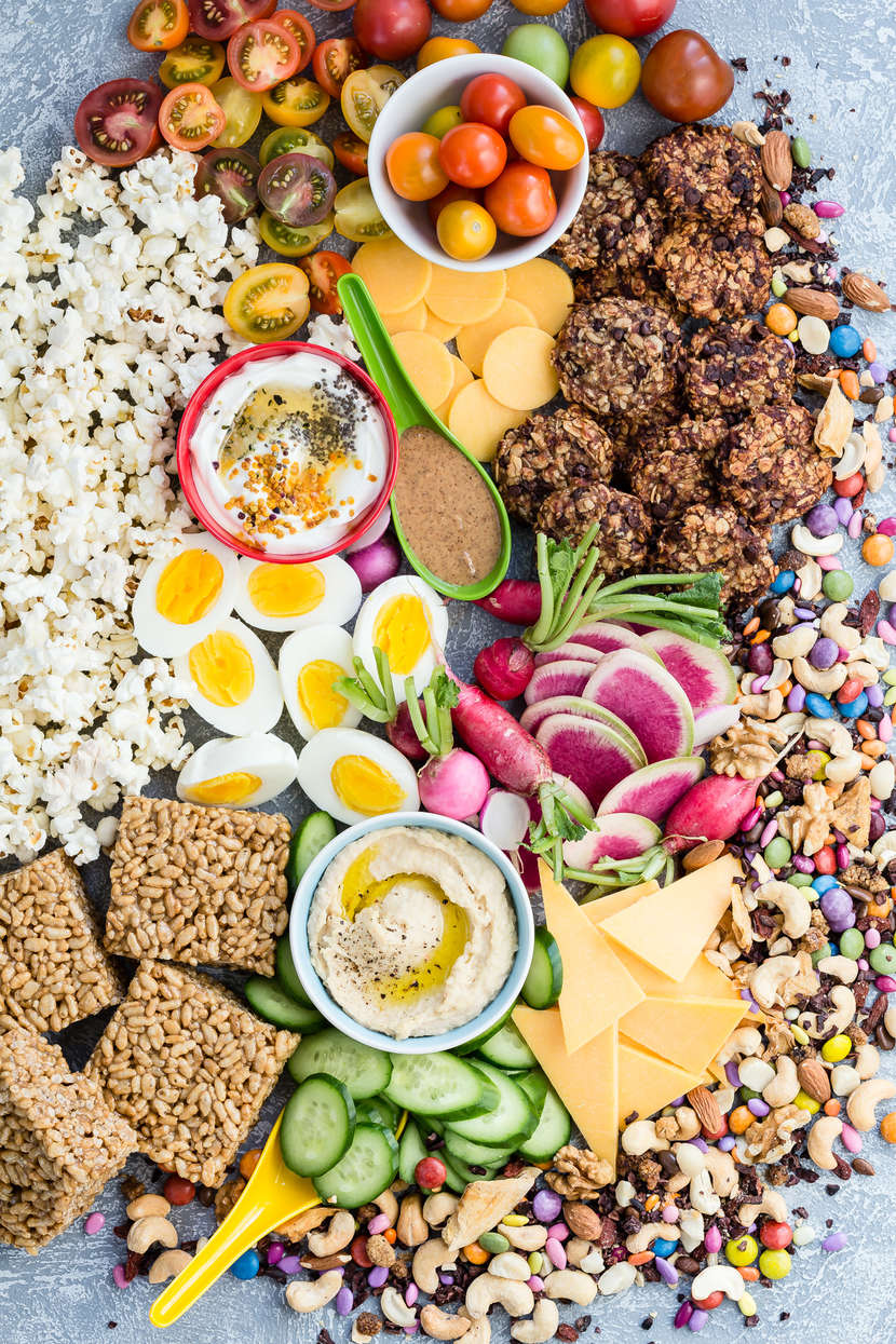 Healthy Snack Platter from Weelicious.com