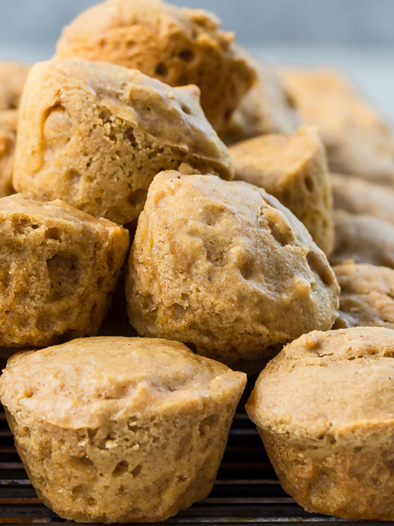 Pumpkin Apple Muffins | Weelicious