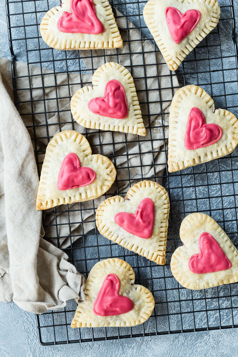 Raspberry Cream Cheese Heart Tarts from Weelicious.com