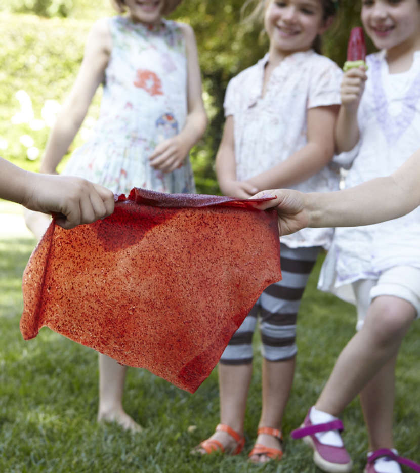 Strawberry Fruit Leather from weelicious.com
