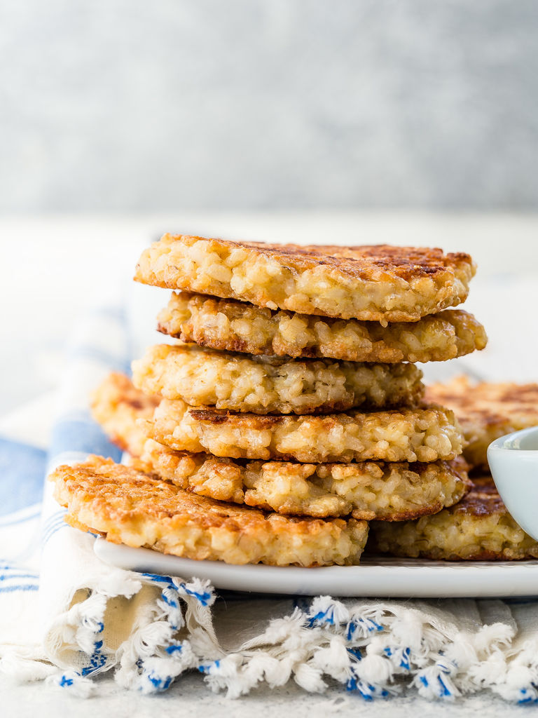 Brown Rice Cakes | Weelicious