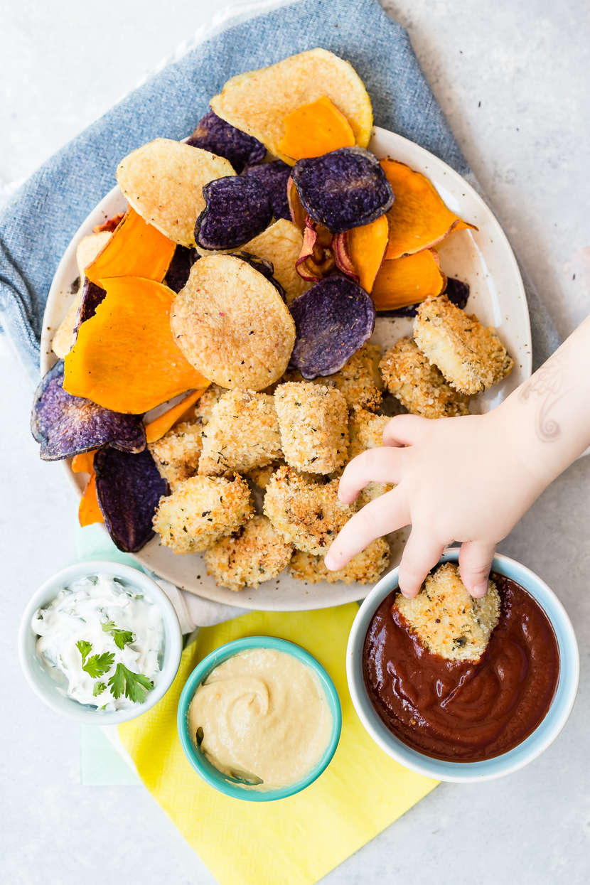 Wee Nuggets recipe from Weelicious.com