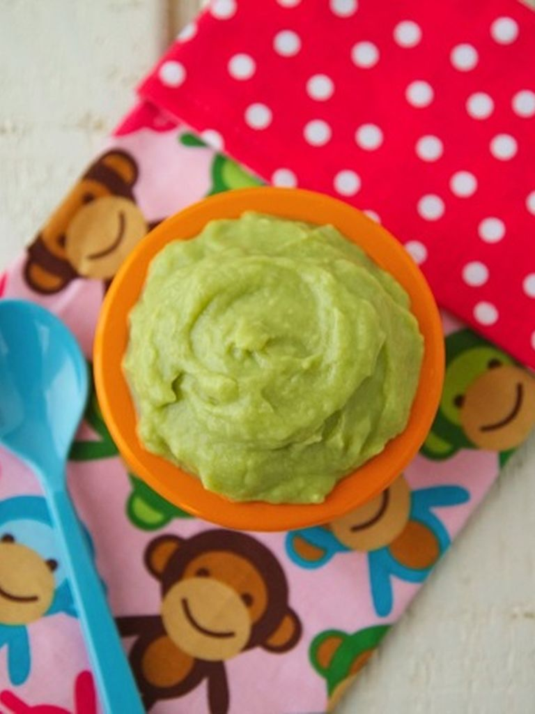 Avocado and Cherimoya Mousse | Weelicious