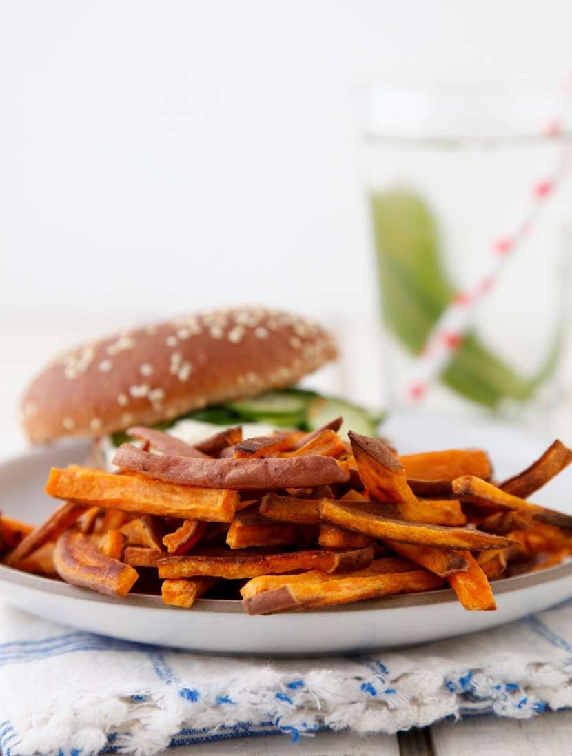 Sweet Potato Fries from weelicious.com