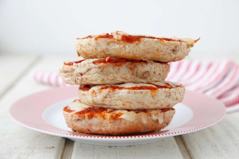 Pizza Bagels from Weelicious