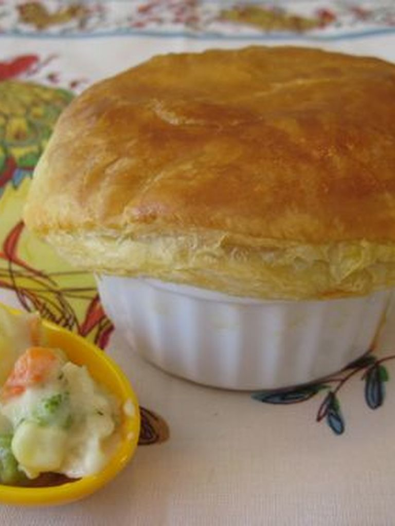 how to make fish pie with pastry