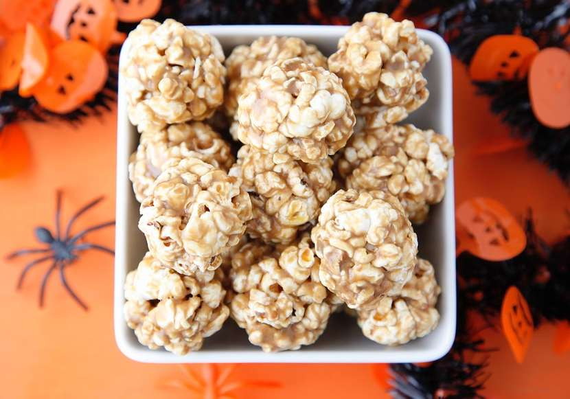 Popcorn Balls from Weelicious