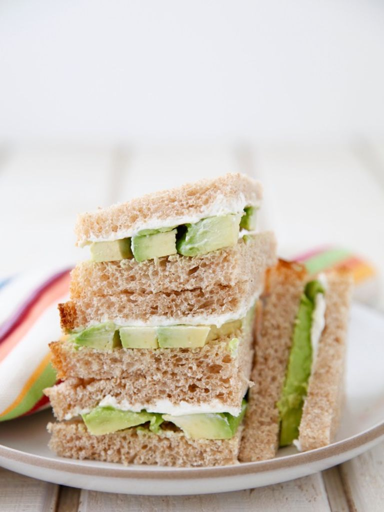 Avocado Cream Cheese Sandwich Weelicious