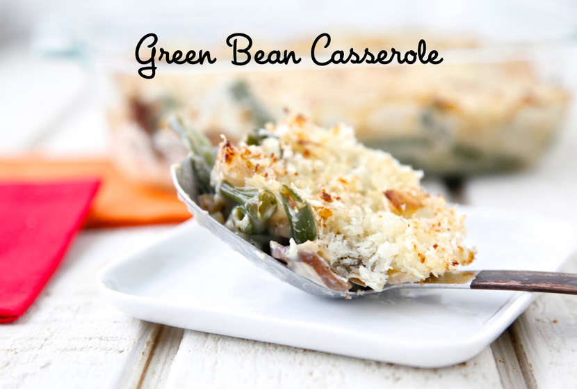 Green Bean Casserole from Weelicious