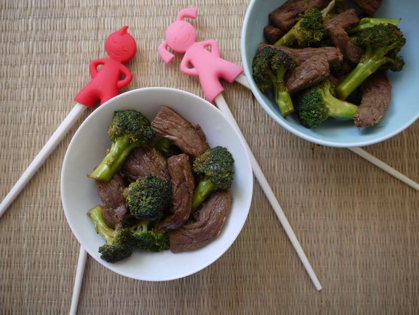 Beef and Broccoli Stir Fry from Weelicious