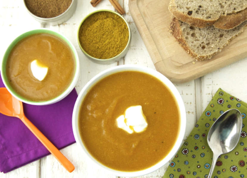 Spiced Carrot Cauliflower Soup 2