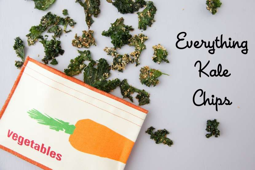 Everything Kale Chips