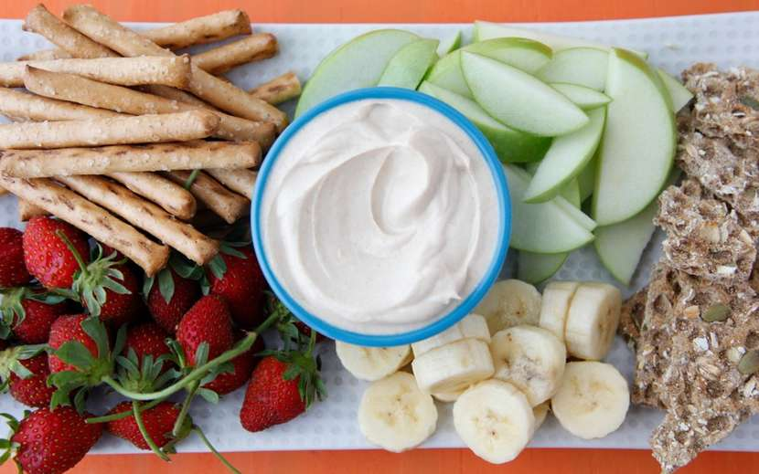 Peanut Butter Yogurt Dip 2