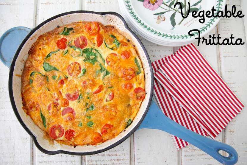 Vegetable Frittata from Weelicious
