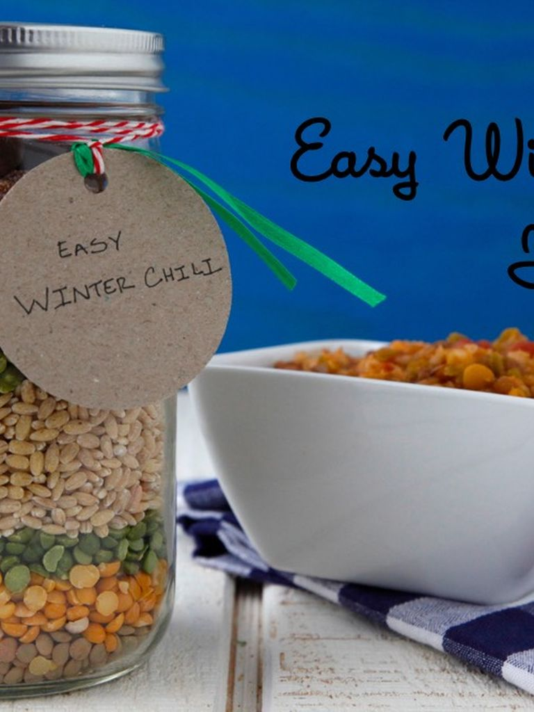 Easy Winter Kids Crafts That Anyone Can Make: Easy Winter Chili In A Jar