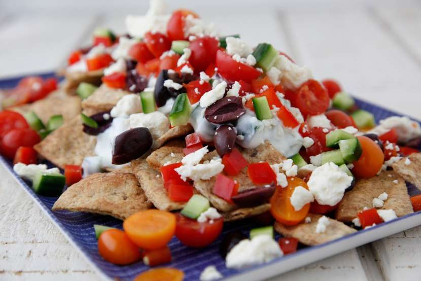 Greek Nachos from Weelicious