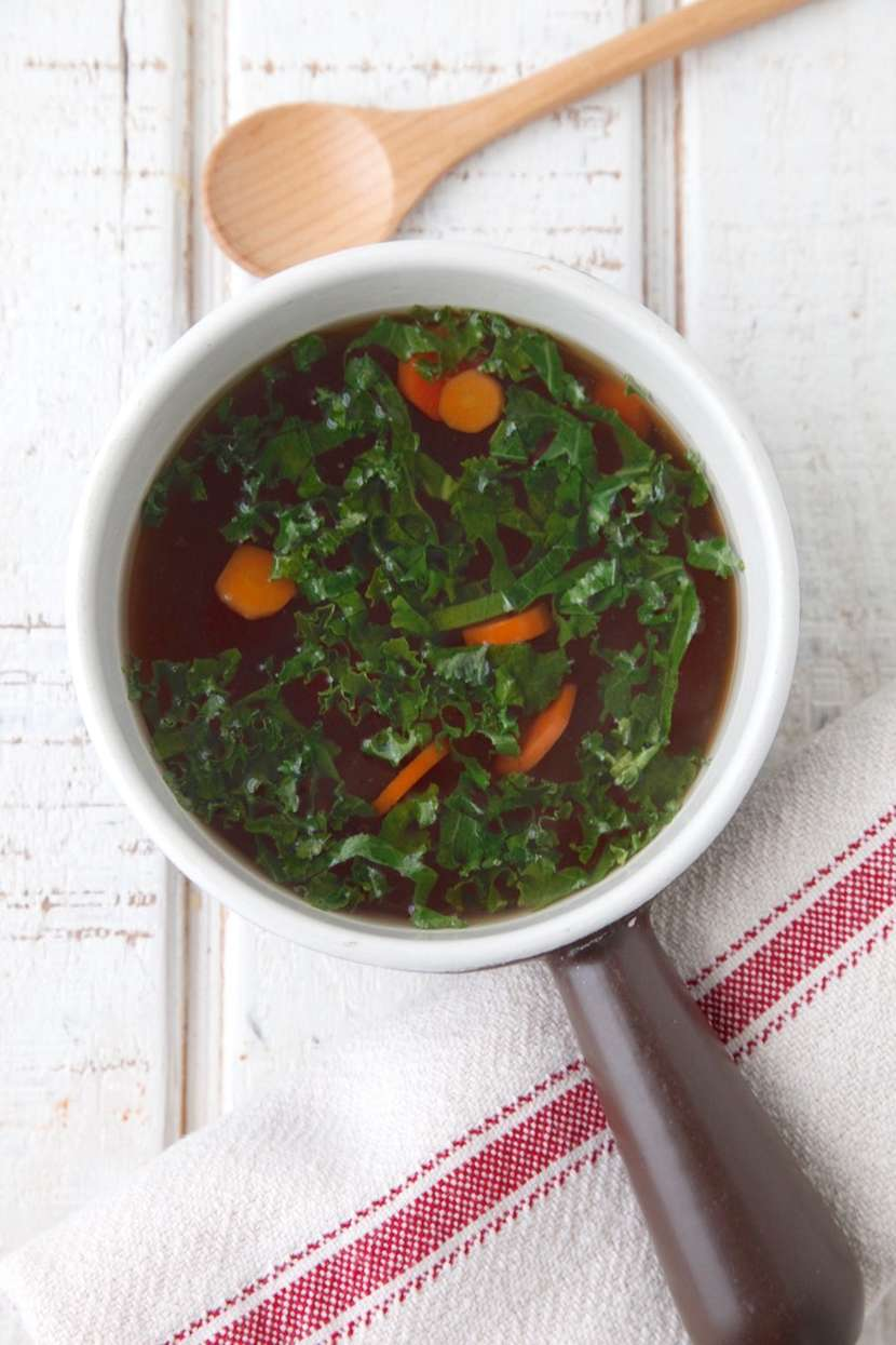 Slow Cooker Bone Broth from Weelicious