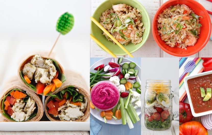 5 Lunches Under 500 Calories from Weelicious
