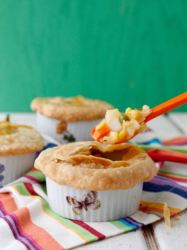 Veggie Pot Pie | Weelicious