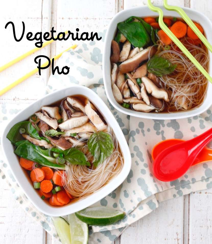 Vegetarian Pho recipe from weelicious.com