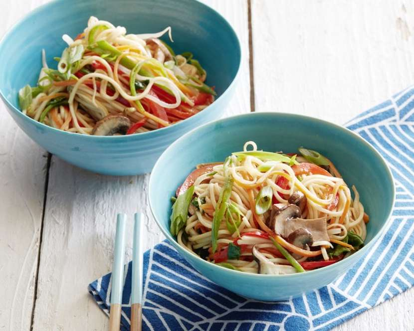 Vegetarian Lo Mein recipe from weelicious.com