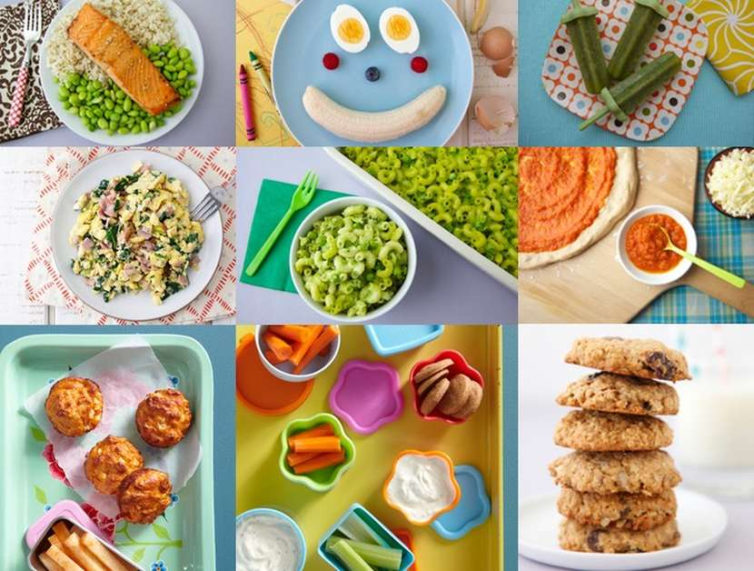9 Healthy Recipes for your Picky Eater from weelicious.com