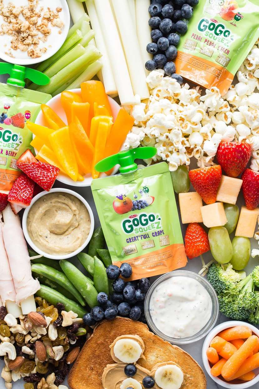 Top 10 Snacks for School Lunch from weelicious.com