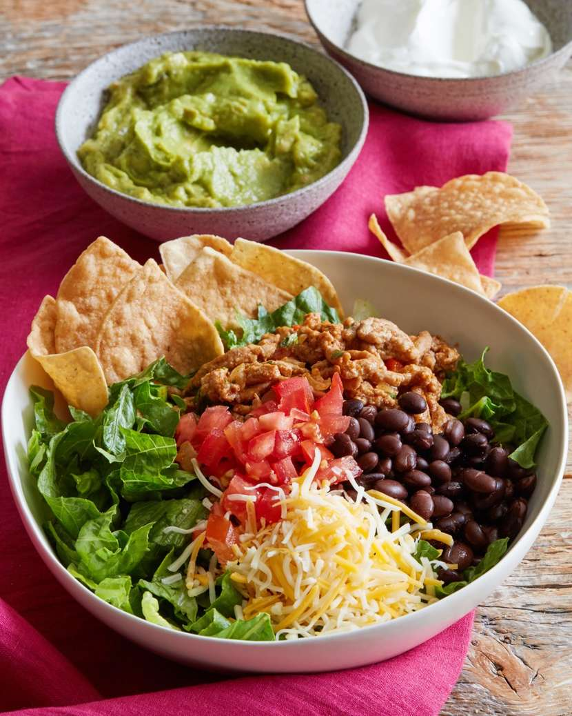 Turkey Taco Bowls 2