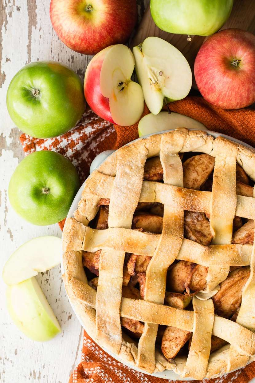 Gluten Free Apple Pie from weelicious.com