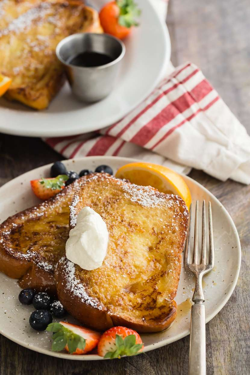Holiday Challah French Toast from weelicious.com