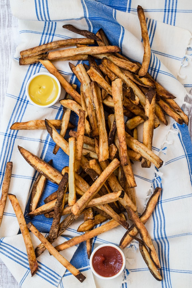 Air Fryer French Fries from Weelicious.com