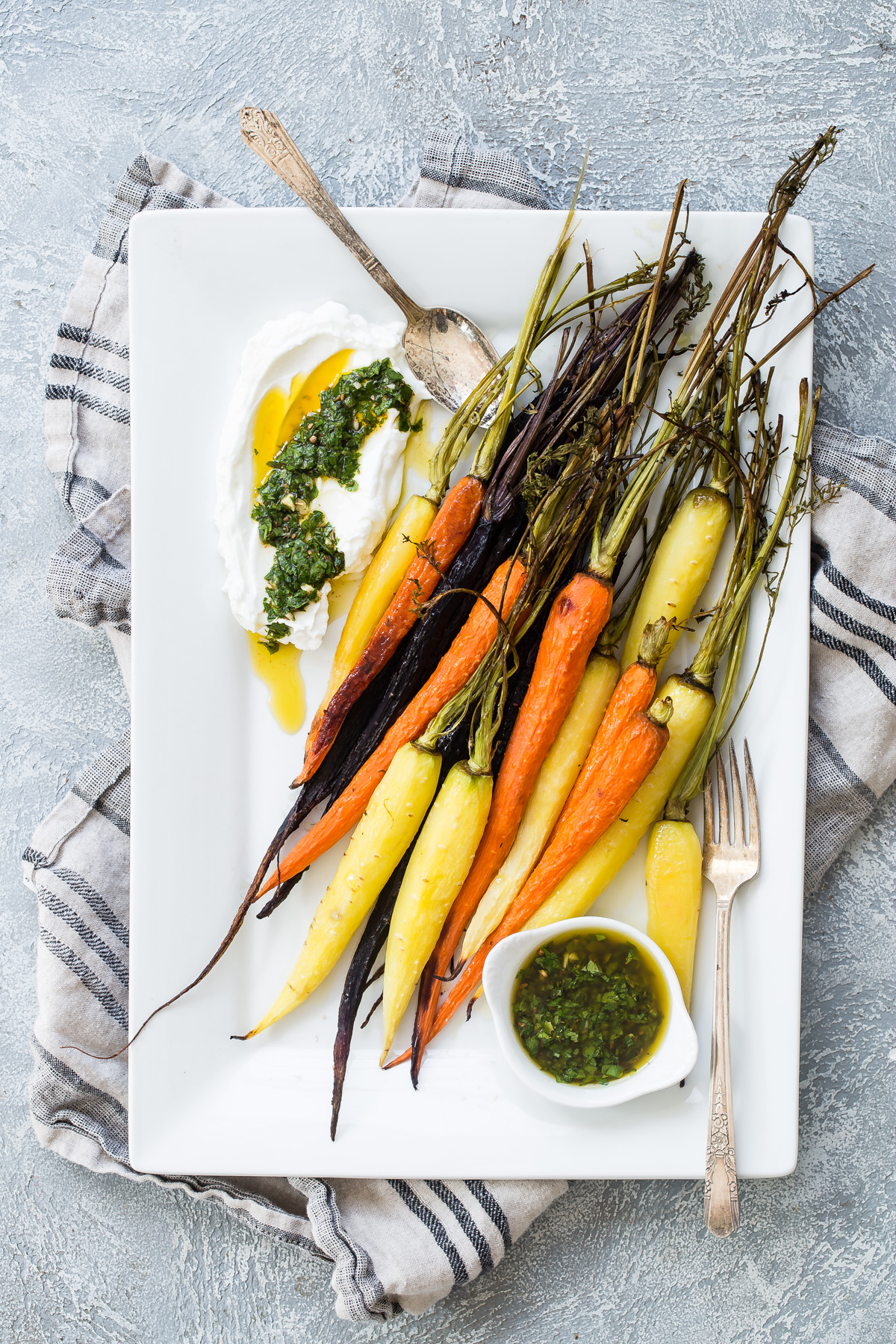 Caramelized Carrots with Chermoula from Weelicious.com