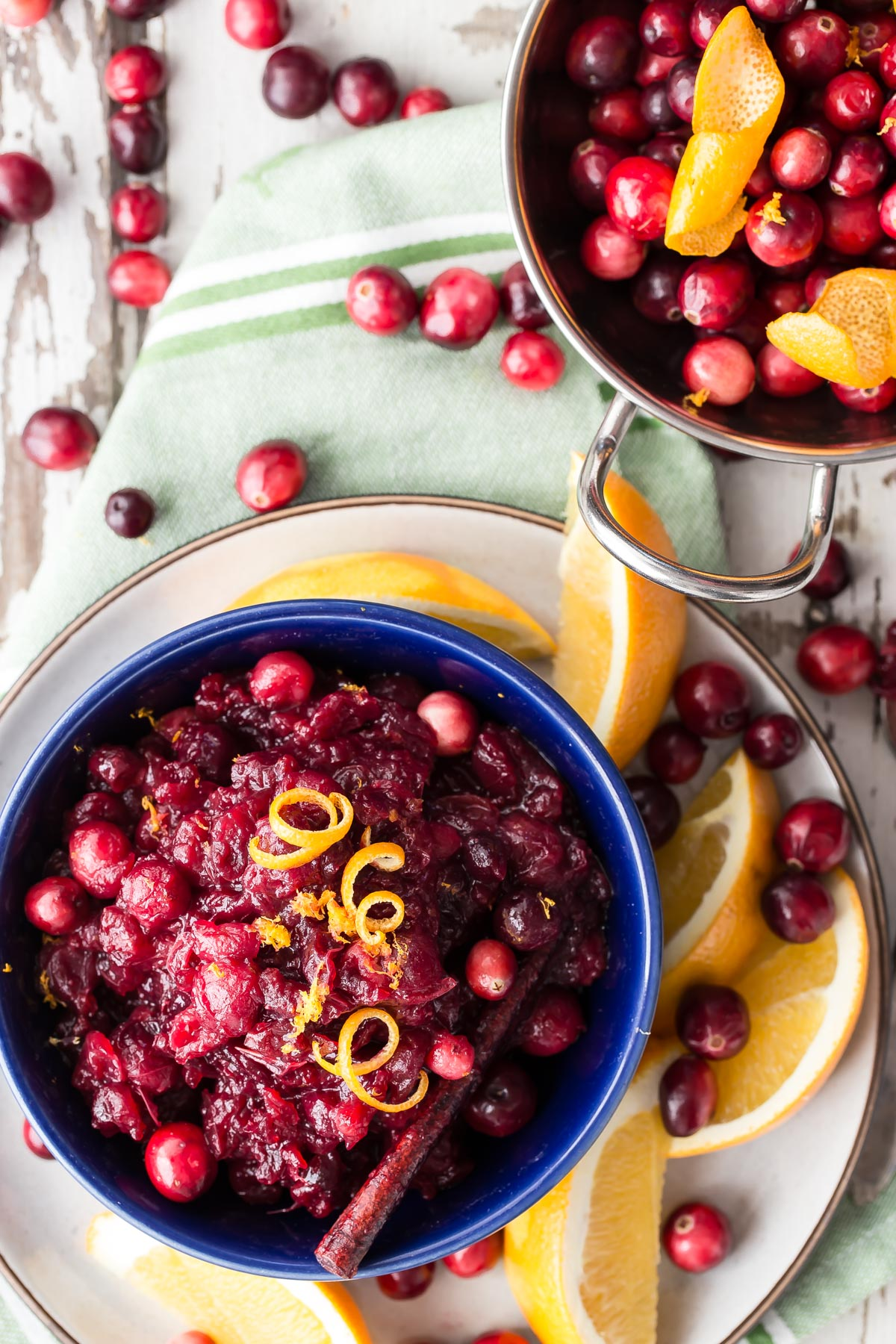 Cranberry Sauce from Weelicious.com