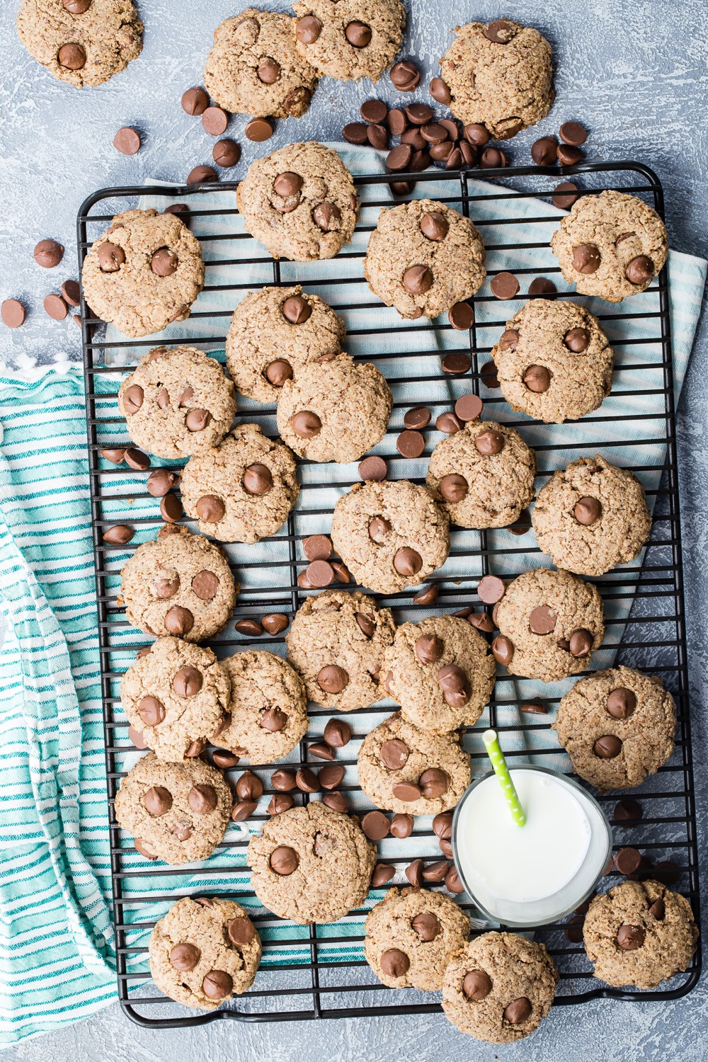 Grain Free Chocolate Chip Cookies recipe from Weelicious.com