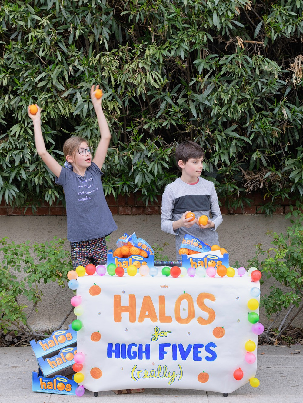 Halos for High Fives from Weelicious.com